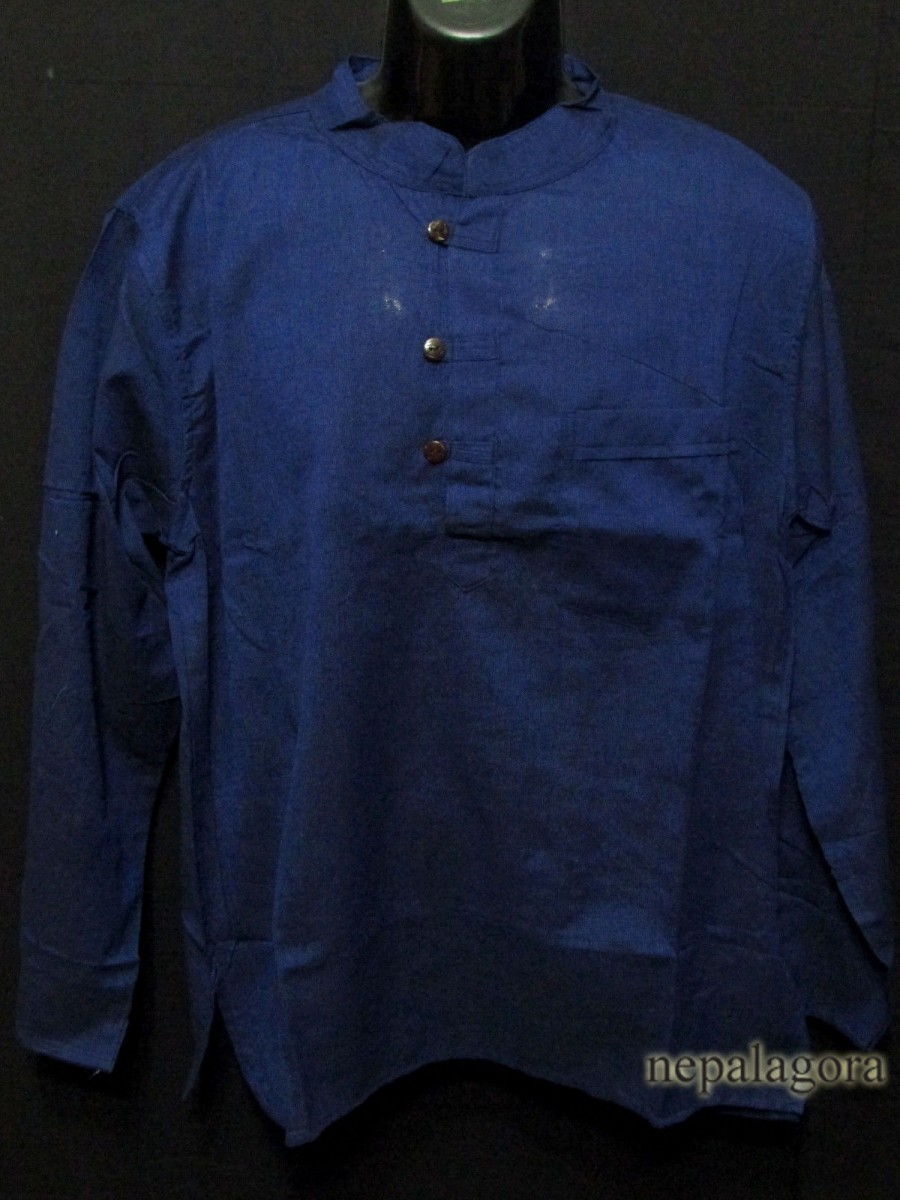 Cotton Blue Boho Unisex Shirt - Sh959 XL