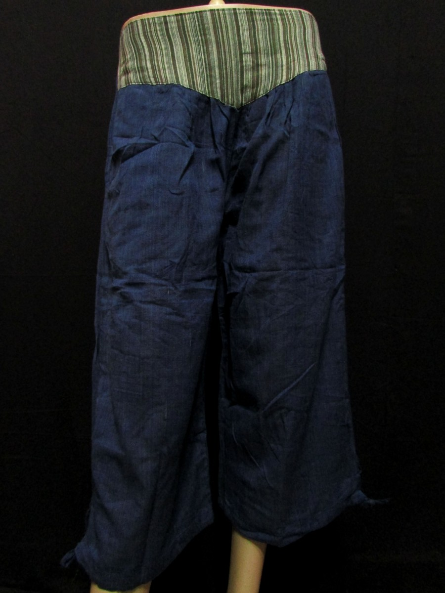 Cotton Quarter Navy Blue PANT TROUSER - Tr255