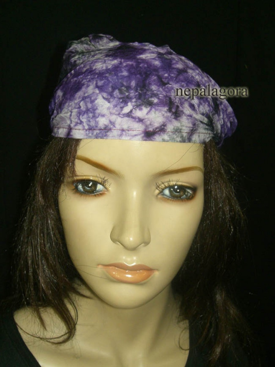 Cotton Stretchy Headband headwear Nepal - HB123