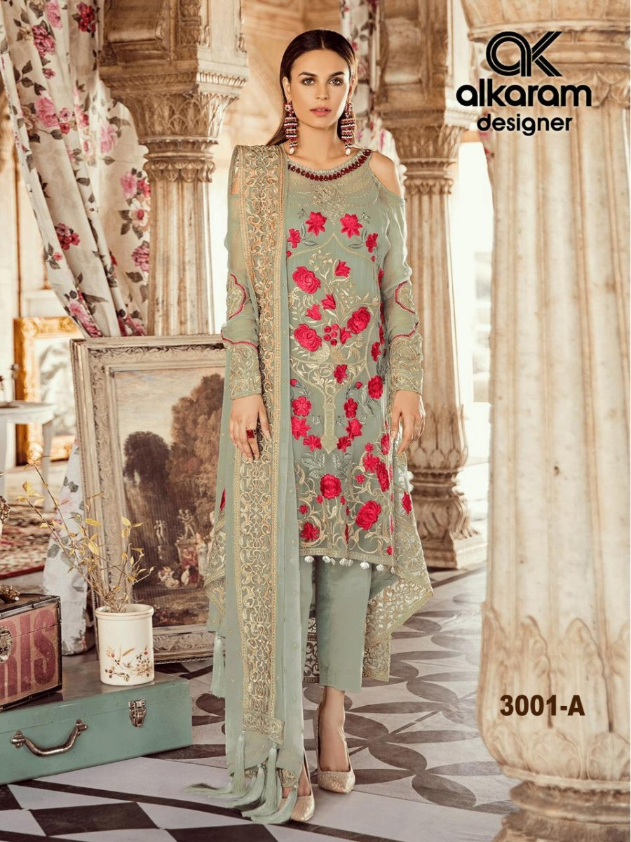 Ethnic Designer wedding party kurta suit -k3001C
