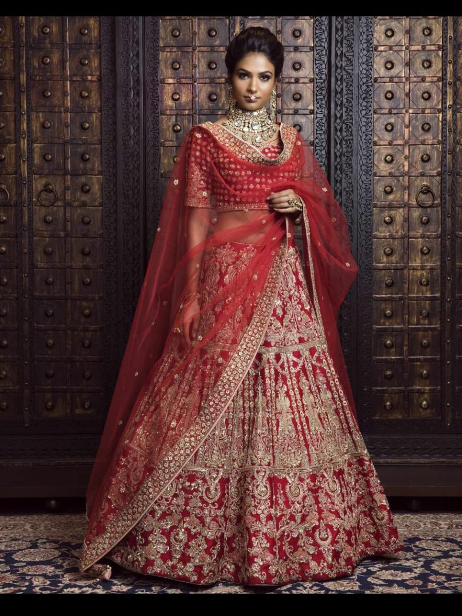 Ethnic Party wear embroidery Lehenga  - L33