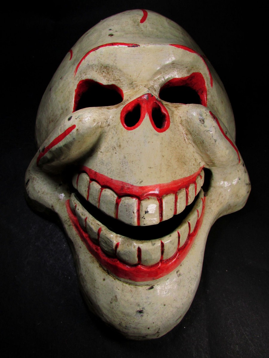 Face Handcrafted Halloween Skull Mask - M376