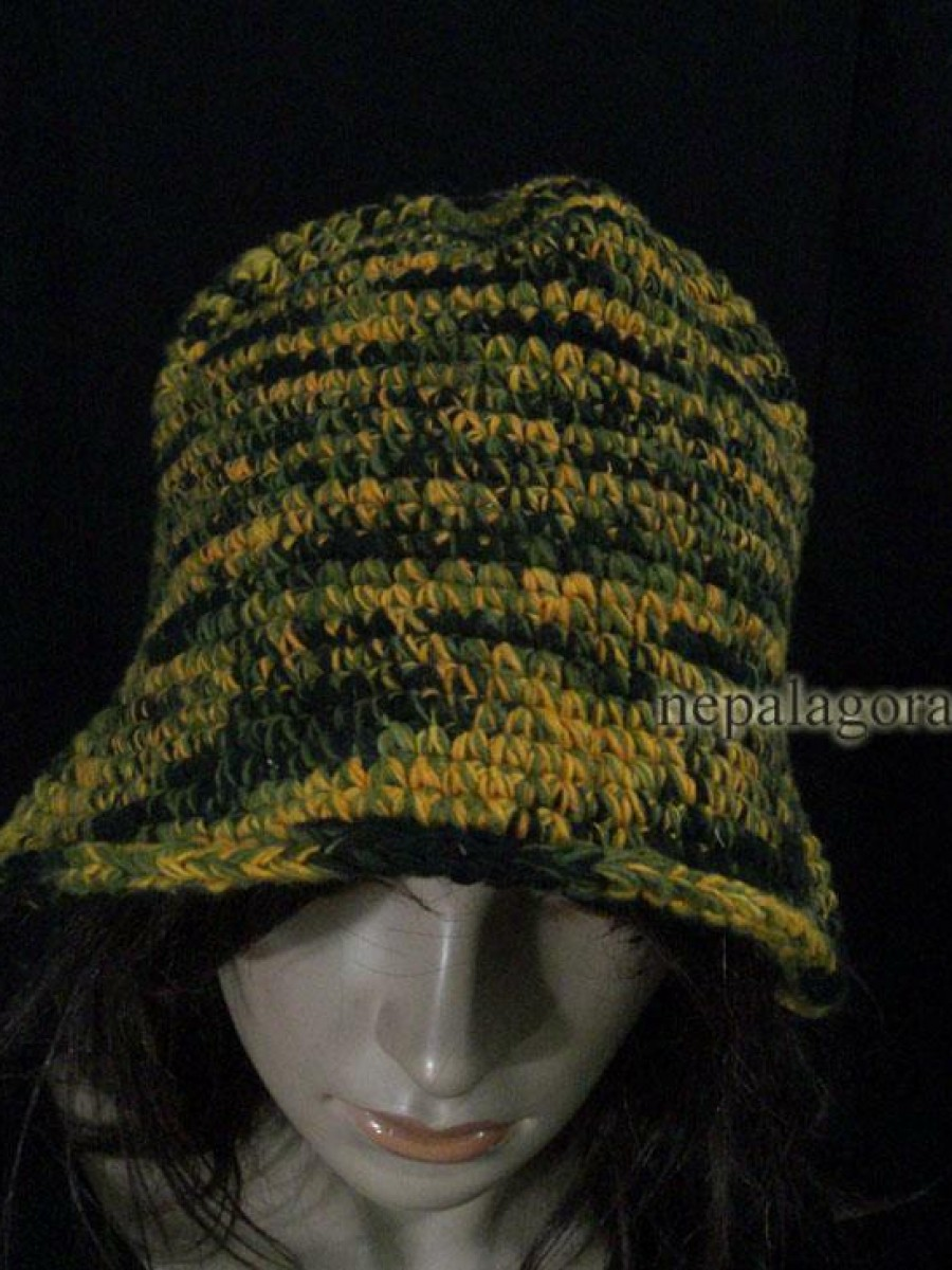 Hand Knitted Wool Cap - C708