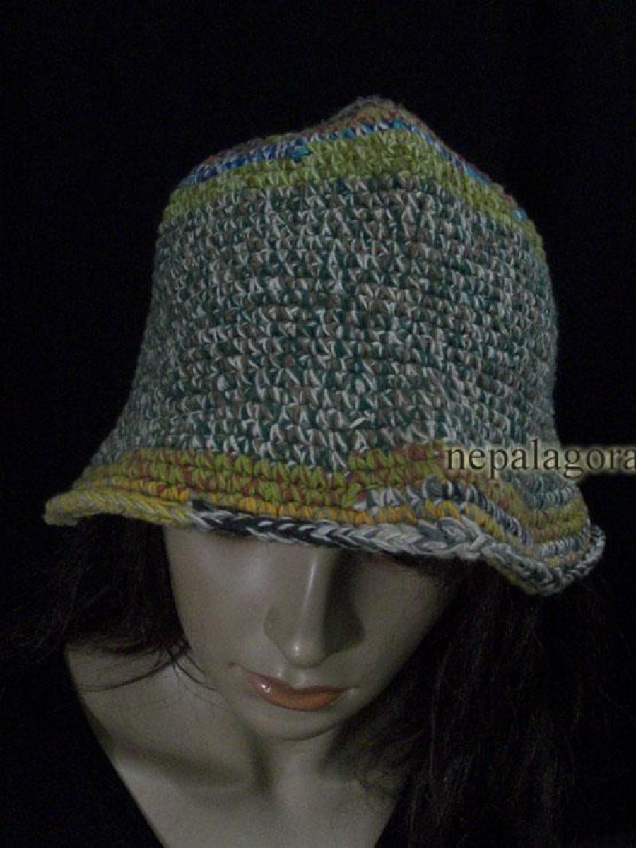 Hand Knitted Wool Cap - C709