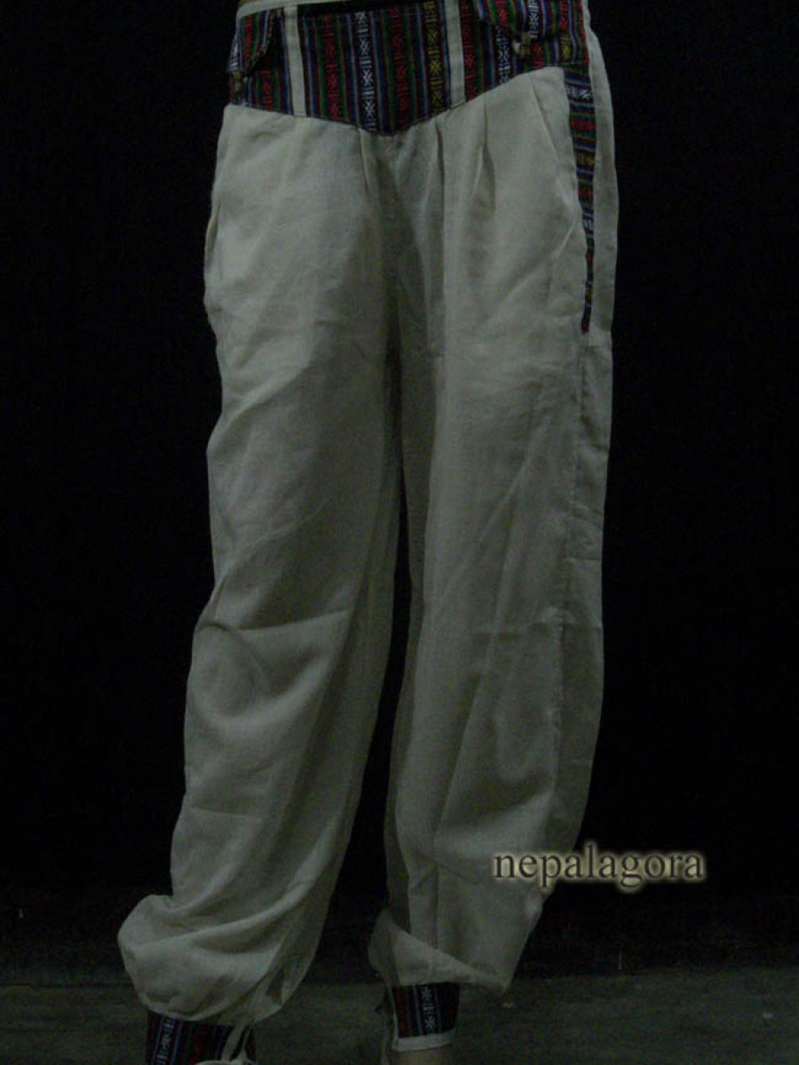 Handloom Cotton M Pant TROUSER Nepal - Tr424