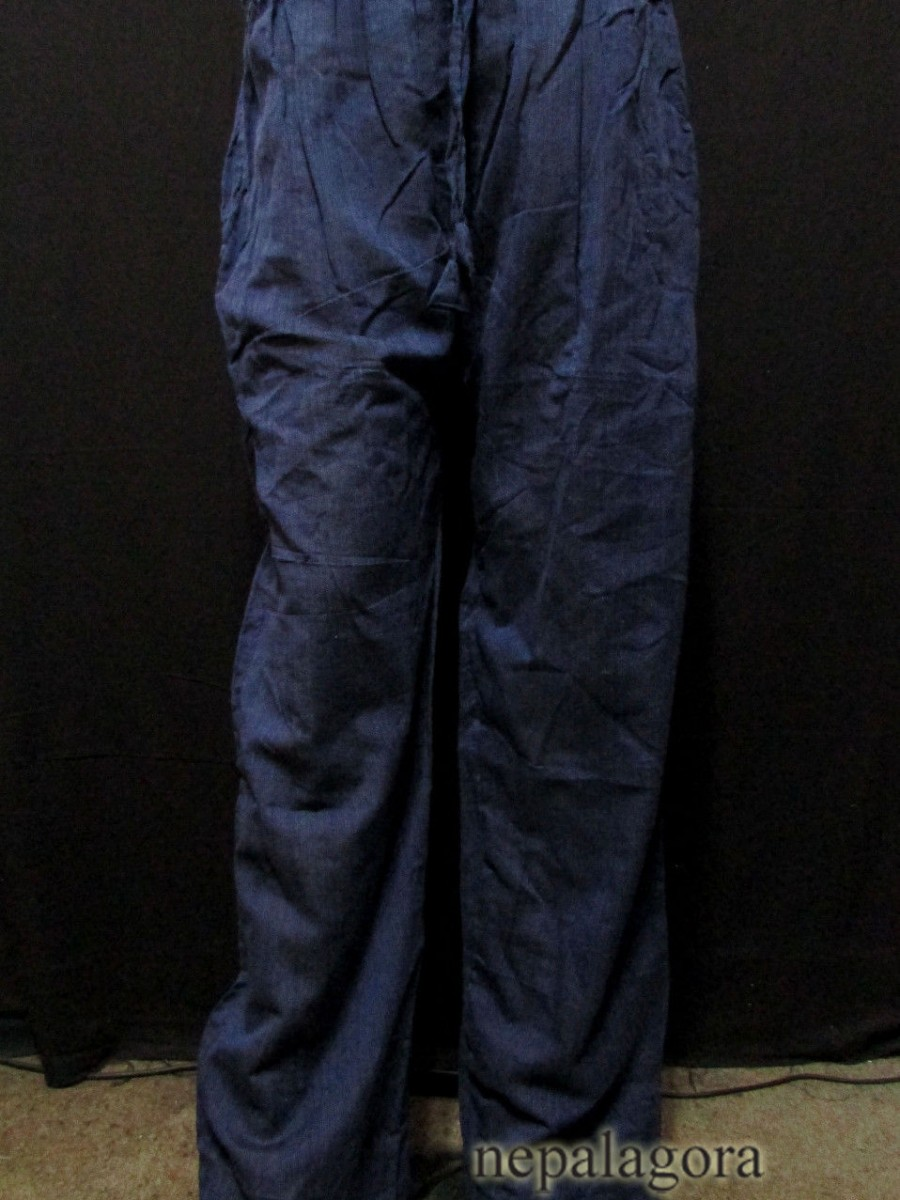 Handloom Cotton Unisex Trouser - Tr492 L