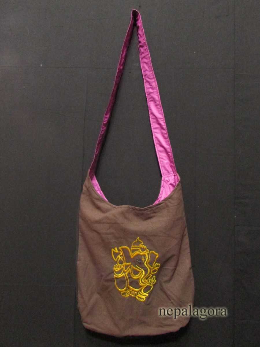Handmade God Ganesha Shoulder Bag - Bag65