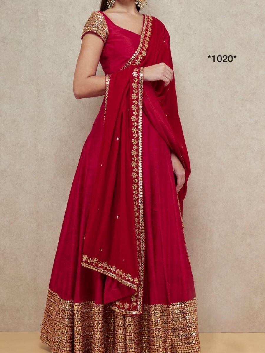 HM1020 Ethnic Designer Georget gown party
