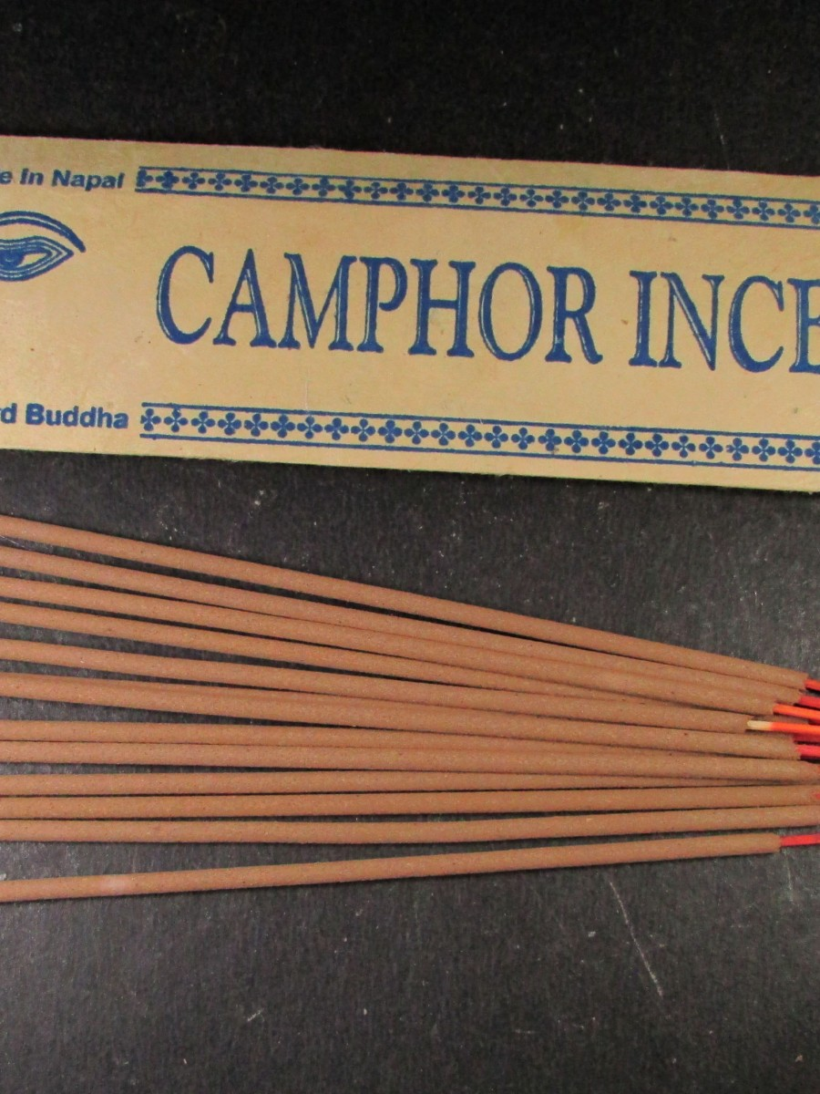 Natural Camphor Aroma Incense Stick Nepal - IN28