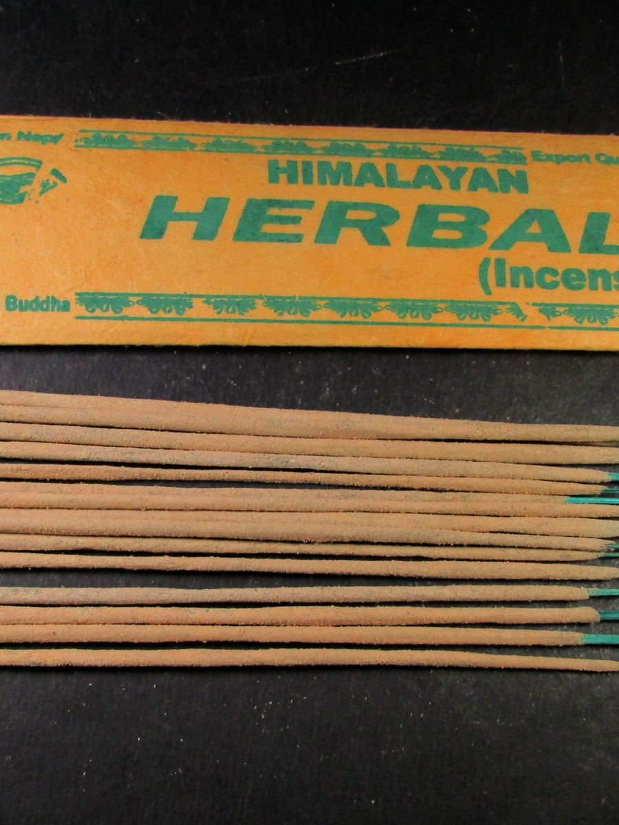 Natural Himalayan Herbal Incense Sticks - IN25