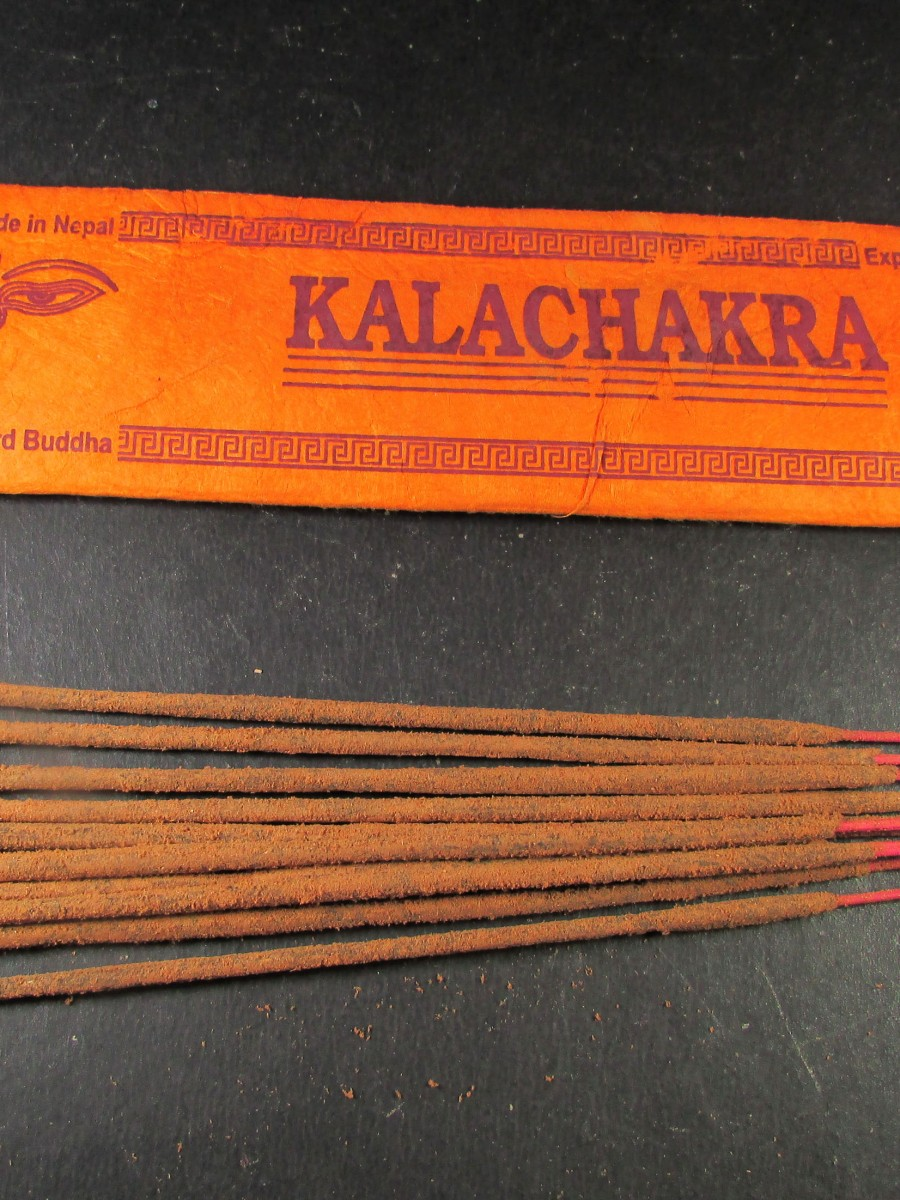 Natural Kalachakra Incense Sticks Nepal - IN33