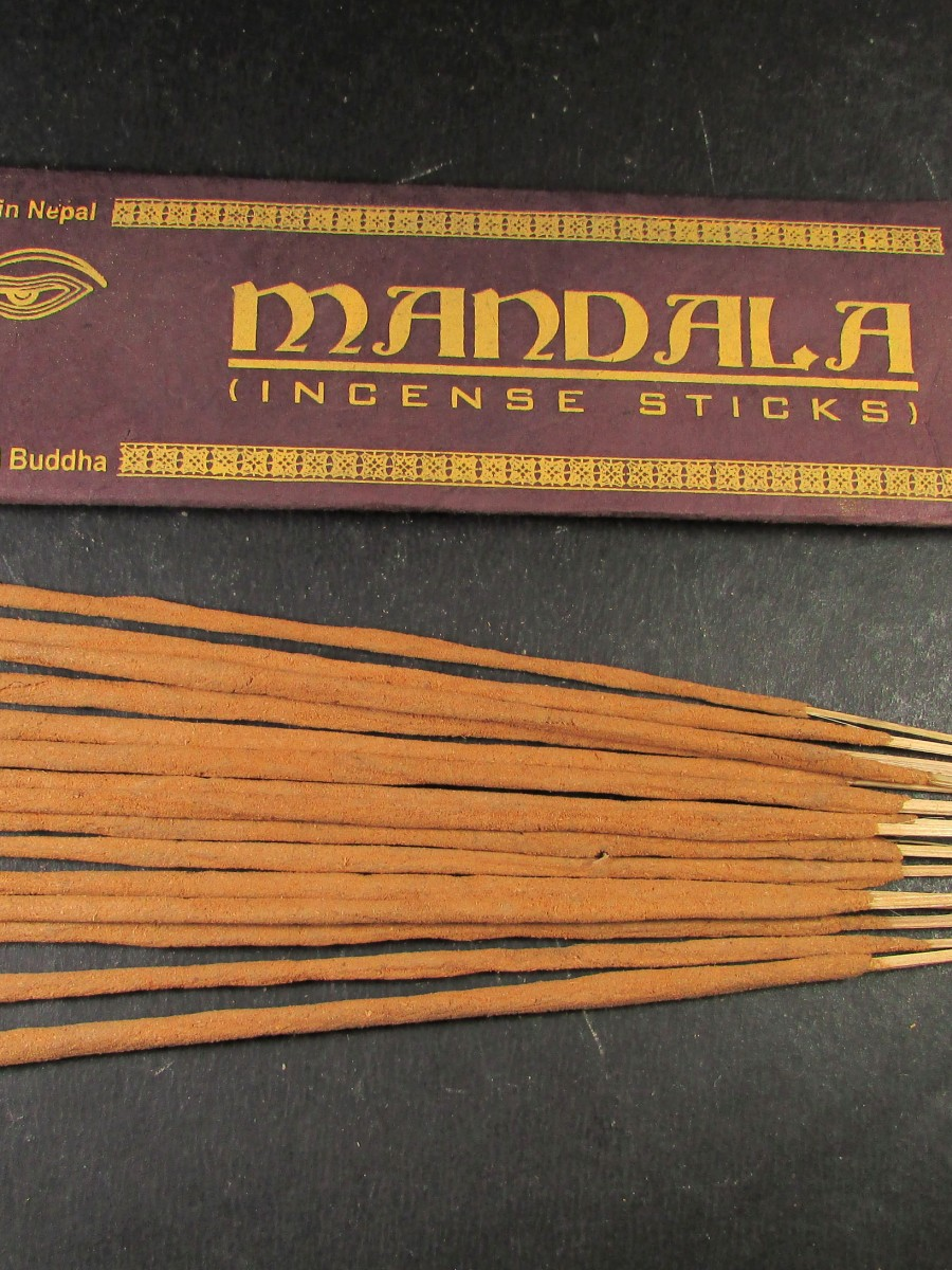 Natural Mandala Aroma Incense Stick Nepal - IN30