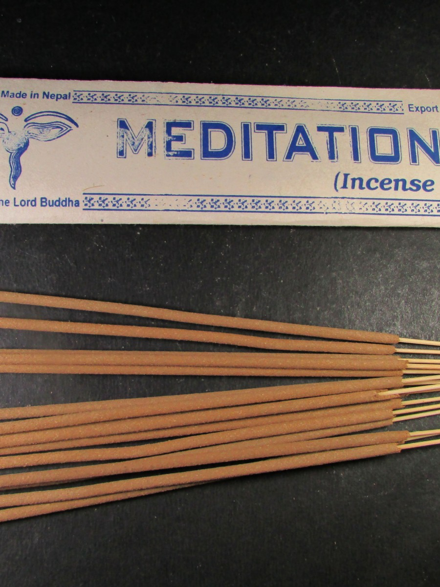 Natural Meditation Gift Incense Stick Nepal - IN36