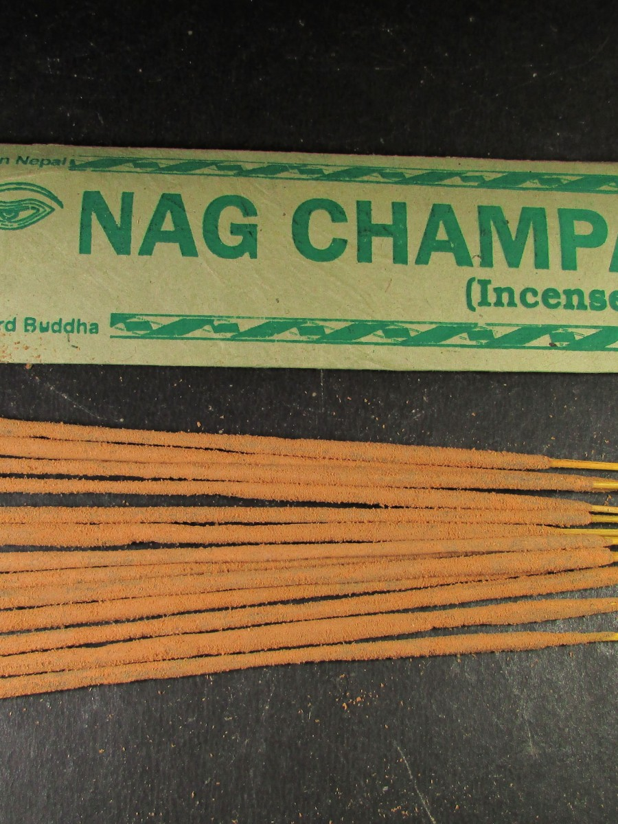 Natural Nag Champa Incense Sticks Nepal - IN27