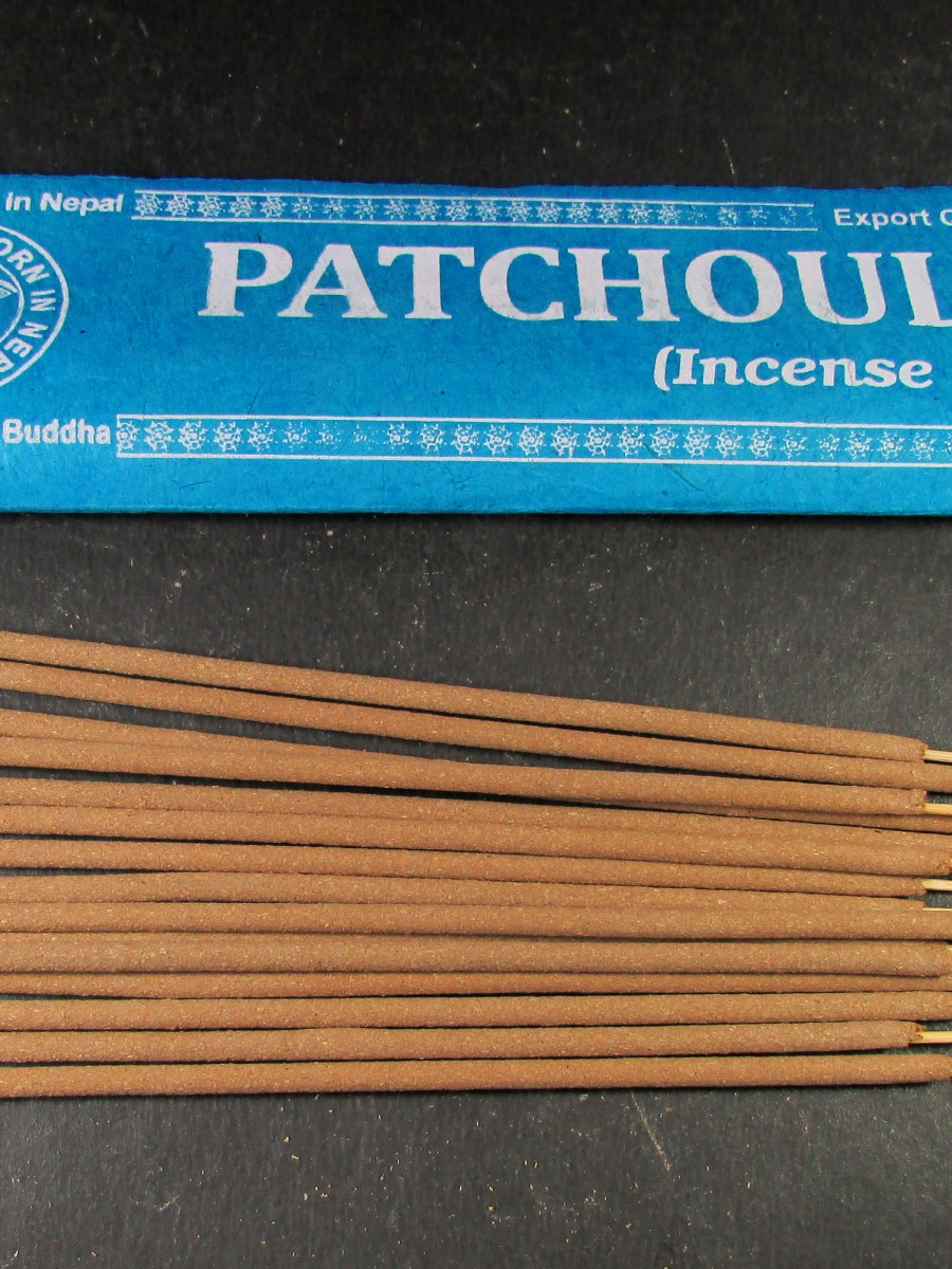 Natural Patchouli Incense Sticks Nepal - IN26