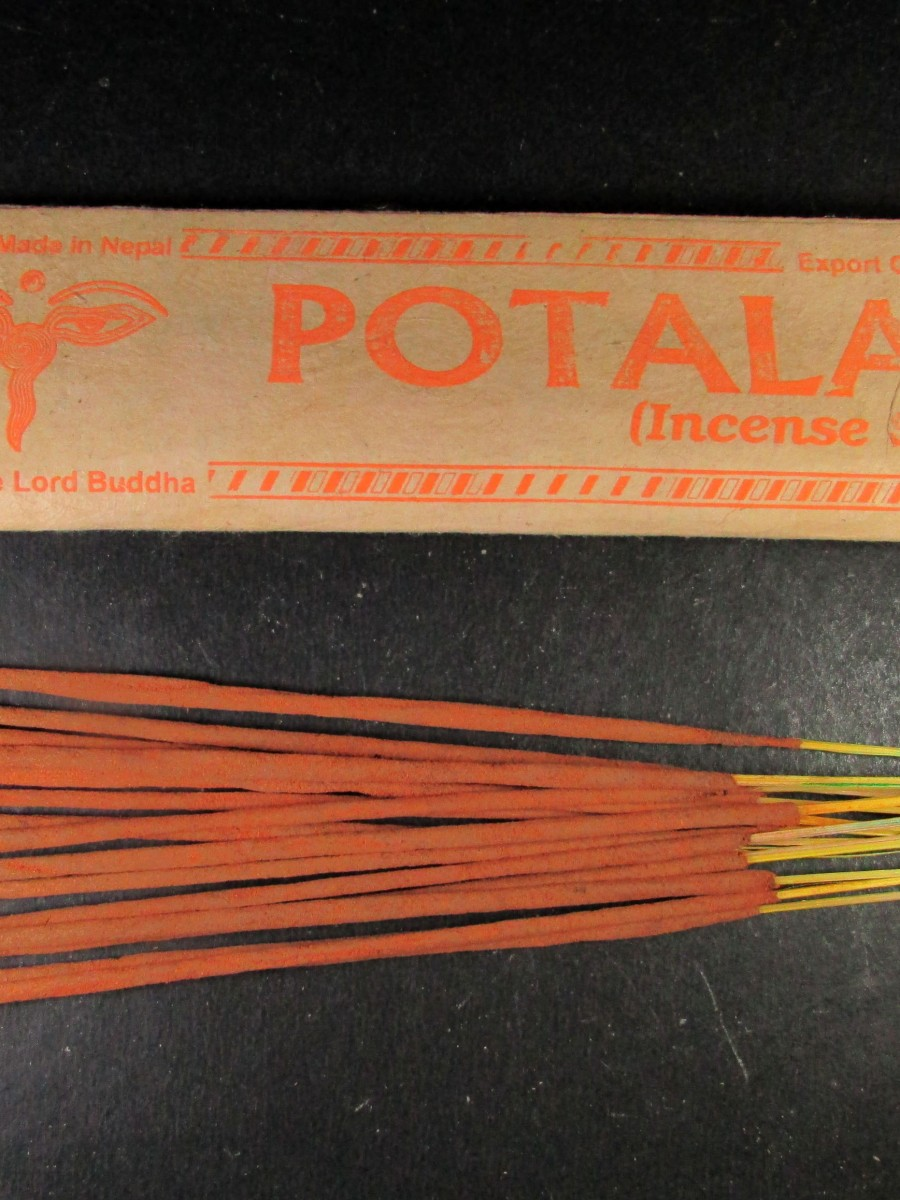 Natural Potala Aroma Incense Sticks Nepal - IN37