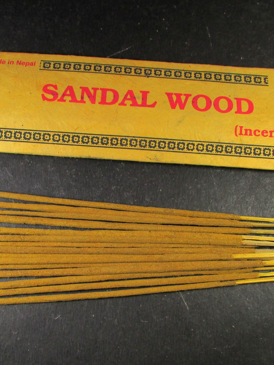 Natural Sandal Wood Incense Stick Nepal - IN29
