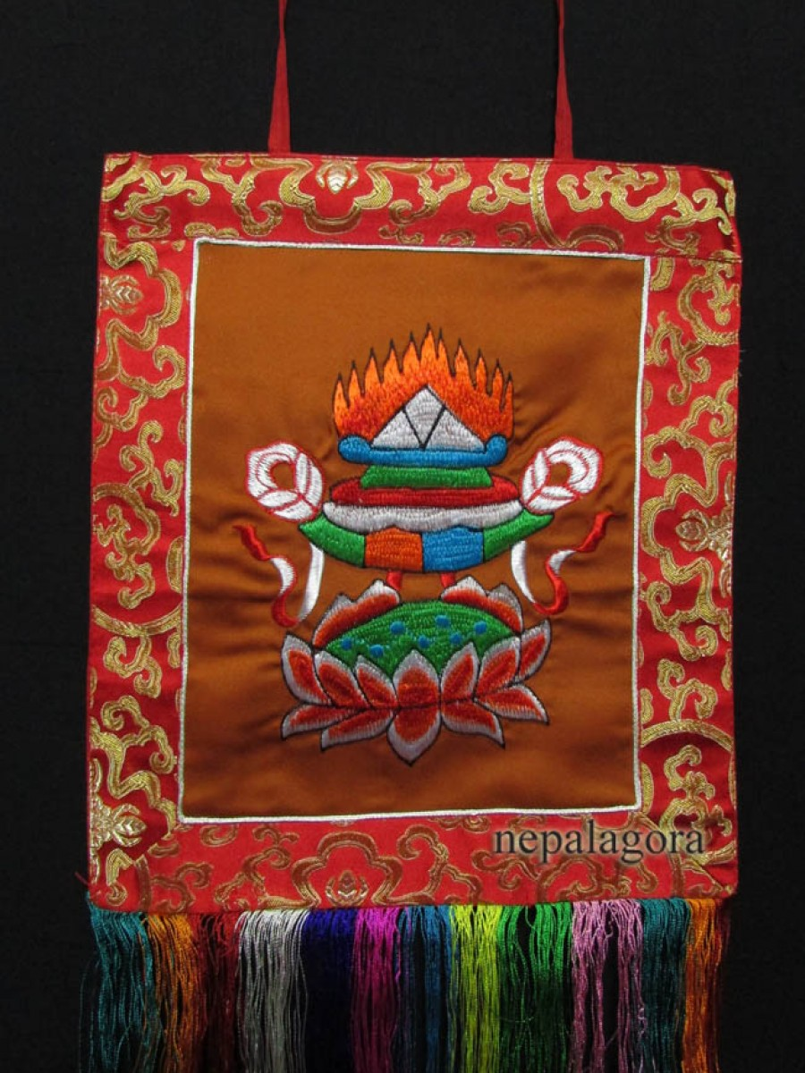 Parasol Wall Hanging Thangka Thanka - Th131