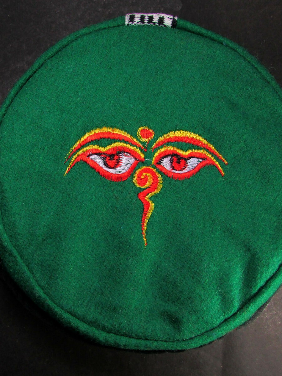 Traditional Buddha Eye Embroidery Cap - C960